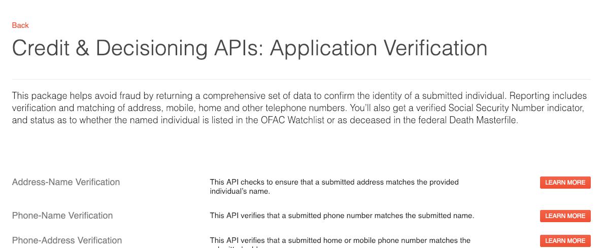 Vew Category APIs